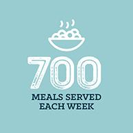 700 meals