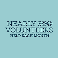 300 Volunteers